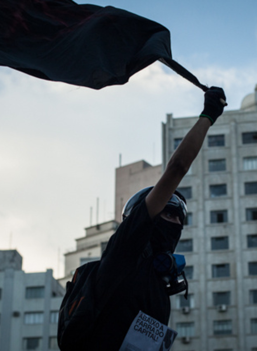 Anarchists in São Paulo Rioted Against the World Cup This Weekend