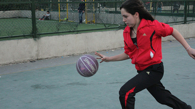 Shatila's First Girls Basketball Team
