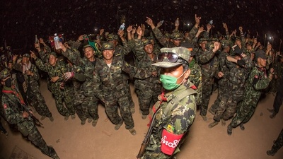 Partying with One of Burma's Largest Rebel Armies