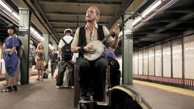 Busking in New York's Urine-Scented Underground