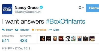 Nancy Grace's Insane, Murder-Fueled Twitter Brilliance