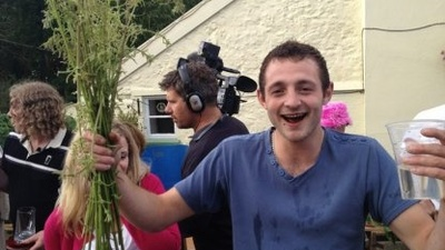 English Idiots Hold Annual Stinging-Nettle Eating Contest
