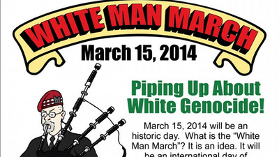 We Interviewed the Guy Behind the 'White Man March'