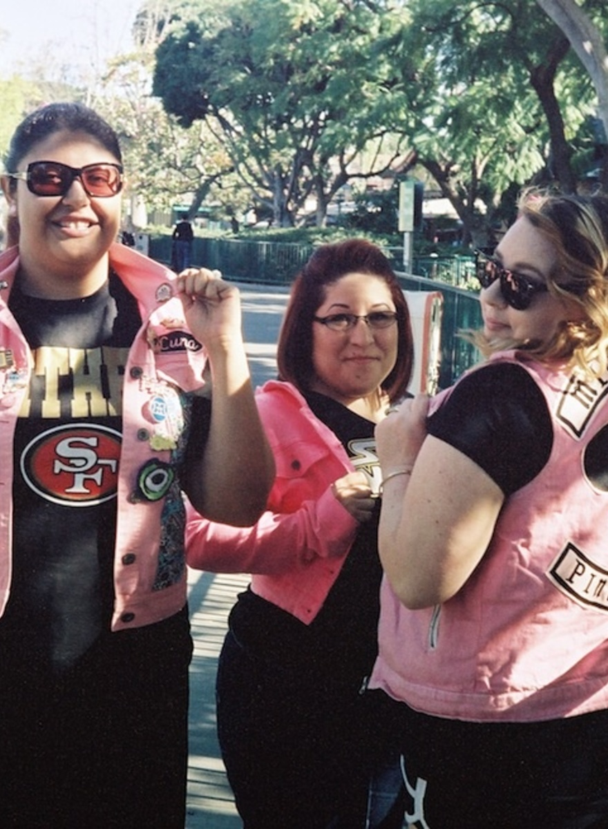 Here are Some More Photos of Disneyland's Awkward Gangs