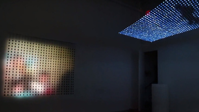 Jim Campbell's Sculptural LED Light Installations