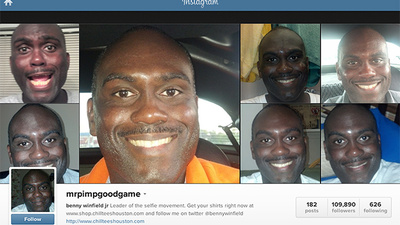 MrPimpGoodGame Is the King of the Instagram Selfie
