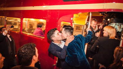 Getting Drunk and Crying at One of Britain's First Gay Weddings