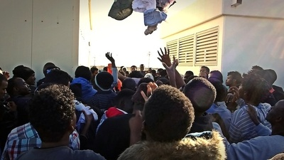 Israel Imprisons African Asylum Seekers in an 'Open' Detention Center