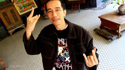 Joko Widodo Loves Napalm Death, Devil Horns, and Sticking Up for the Little Guy