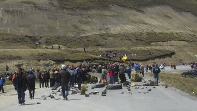 Miners Just Took 43 Police Officers Hostage in Bolivia