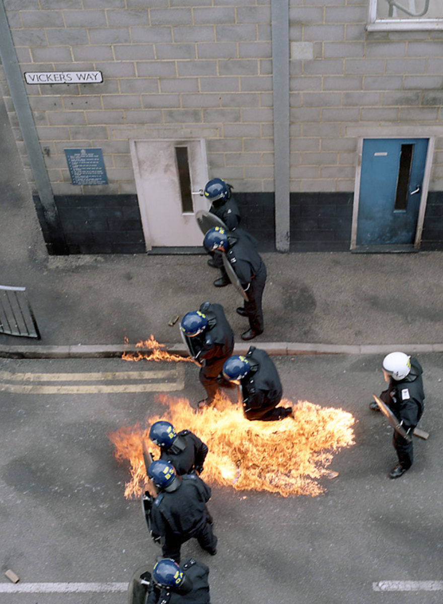 The Fake Town Where London Cops Train for Riots