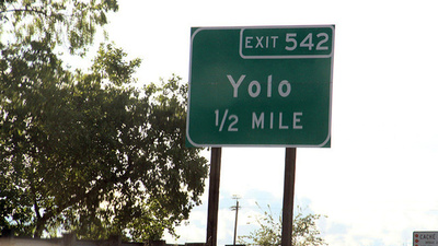 A Visit to the Town of Yolo, California