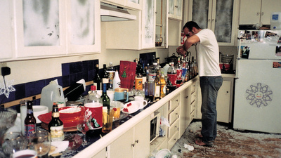 Photos of the Bathrooms and Kitchens of America's Bachelors