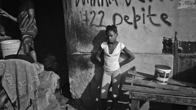 Remember Haiti? Giles Clarke Does