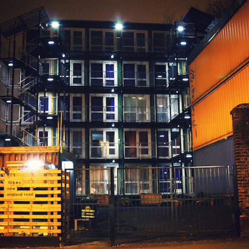 Sneaking Into Brighton's New Homeless Shipping Container