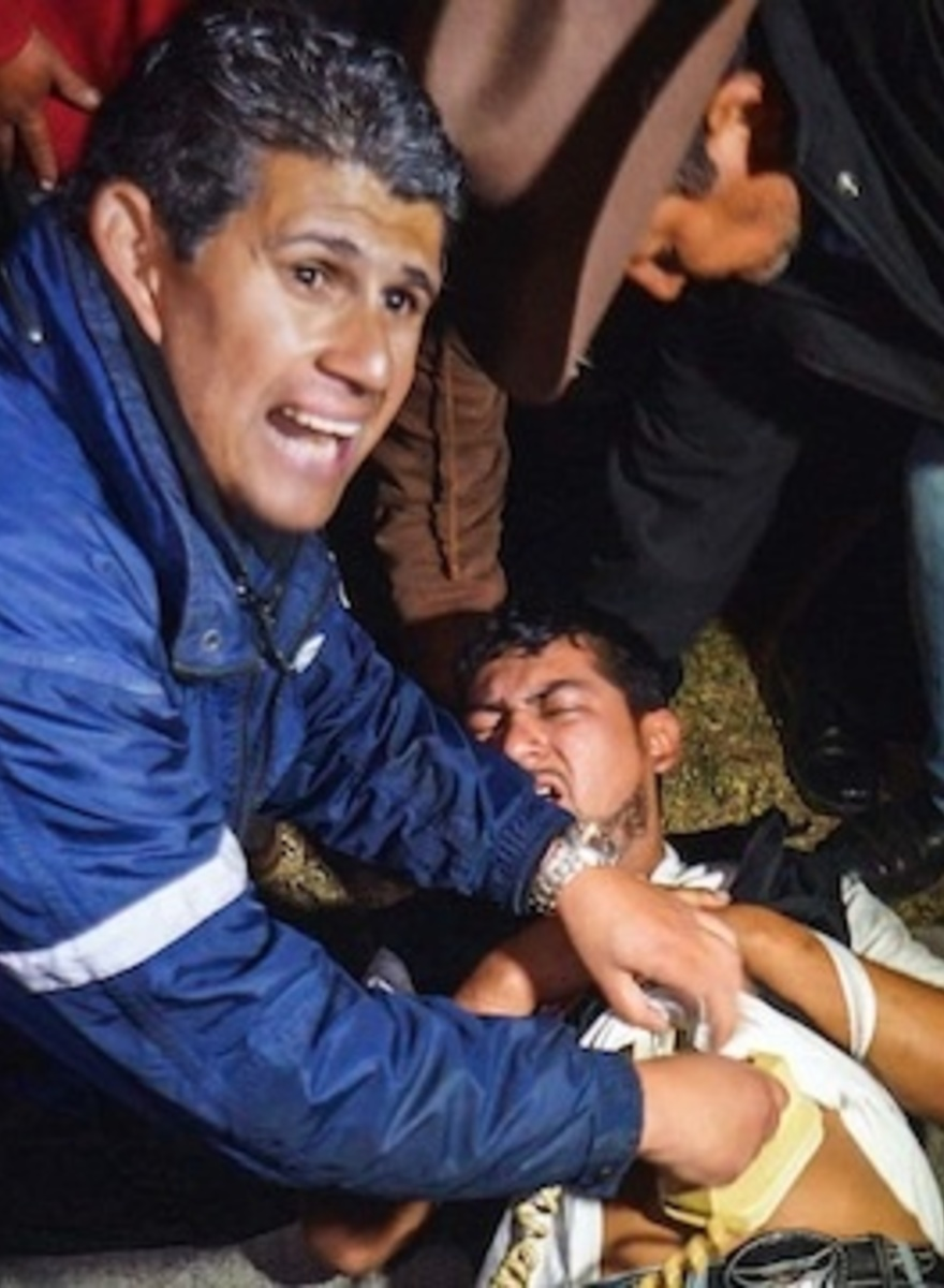 Riding Shotgun to Murder Scenes with Guatemala City's Overworked Volunteer Paramedics