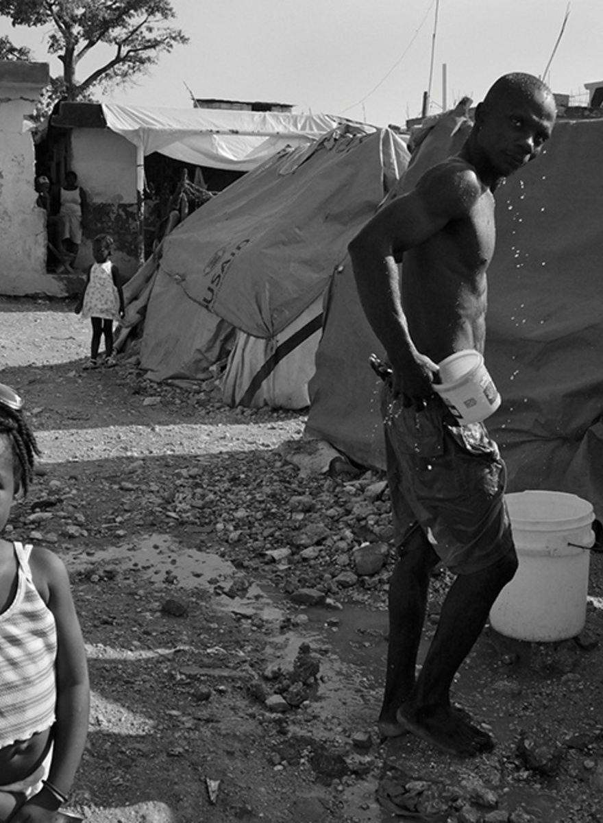 We Talked to Giles Clarke About His Photos from Haiti