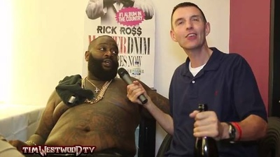 Here's a Video of a Drunk as Shit Tim Westwood Interviewing Rick Ross, Who Is Also Drunk as Shit