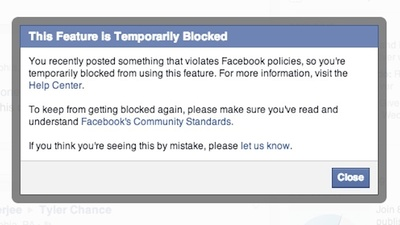 Facebook Won't Let Faggots Say Faggot