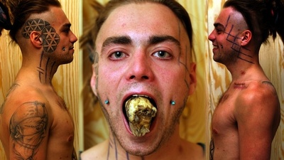 The Student Who Ate His Own Hip as an Art Project
