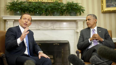 Tony Abbott Called His Climate Change Action Plan 'Very Similar' to Obama's