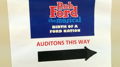 "Auditions for ""Rob Ford: The Musical"" Were Appropriately Bizarre"