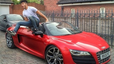 A 'Rich Kid of Instagram' Had Four Luxury Cars Destroyed in Arson Attacks