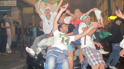 Partying in Paris with Algeria's Ecstatic Soccer Fans