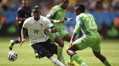 Play by play: Francia-Nigeria 2-0