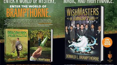 Enter a World of Mystery, Magic, and High Finance