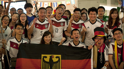 China's Soccer Fans Are Obsessed with Germany's National Team