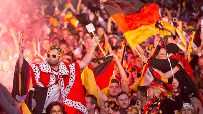 Germany Celebrated Its World Cup Win with Fireworks and a Lot of Honking