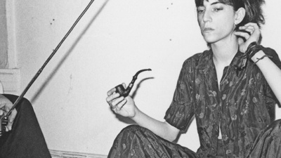 Fumando marihuana con Patti Smith