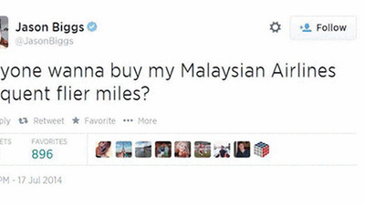 Jason Biggs Tweeted Something Stupid About the Malaysia Airlines Disaster
