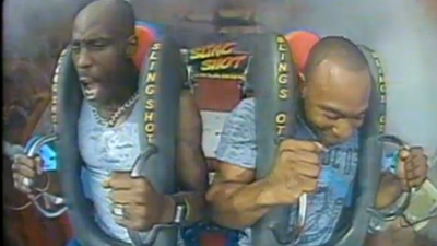 DMX Screamed Like an Insane Person While Riding a Roller Coaster
