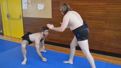 French Sumo Wrestling Has Very Little to Do with Japanese Sumo Wrestling