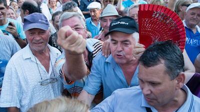 I Was Attacked by a Gang of Old People at a Protest in Bucharest