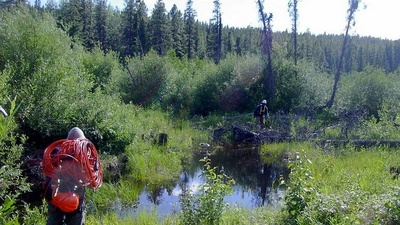The Life of a Seismic Gas Explorer in Canada's Wilderness
