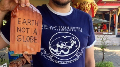 Yes, There Are Still People Who Believe the Earth Is Flat