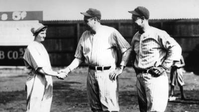 The Time a Woman Struck Out Babe Ruth and Lou Gehrig