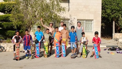 Say Hello to Palestine's First Skate Park