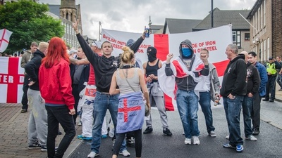 Fascists Fought Each Other in England on Saturday