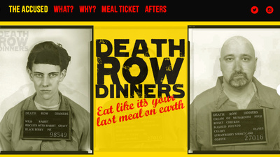 Is East London's New Death Row Pop-Up Restaurant for Real?