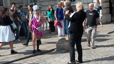 I Dressed Like an Idiot at London Fashion Week to See How Easy It Is to Get Street Snapped