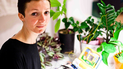 Mélodie Fenez Makes Music Using the Secret Sounds of Plants