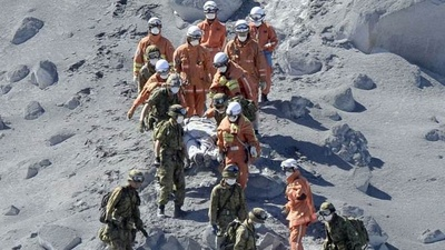 Over 30 Feared Dead in Sudden and Devastating Japanese Volcano Eruption