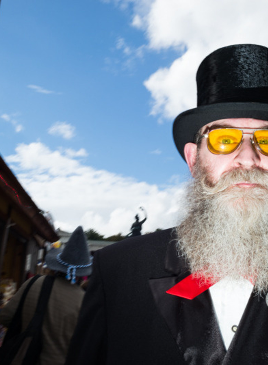 Photos of Beer, Beards, and Broken Heroes at Oktoberfest