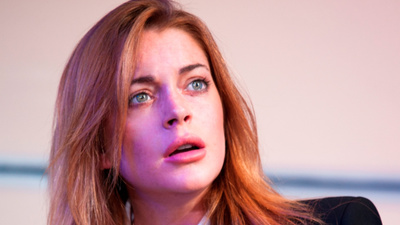 Lindsay Lohan Played Herself in Her London Stage Debut