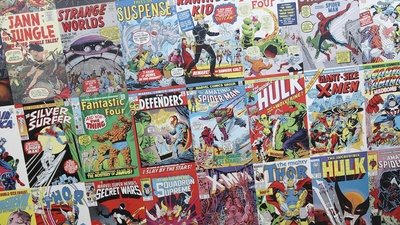 The Hidden Language of Comic Book Writers