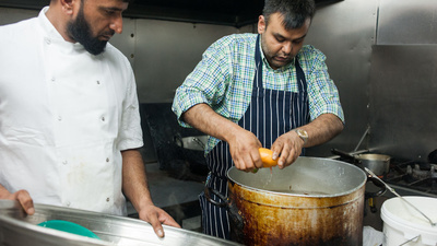 From the Gitmo Cookbook: Biryani at Tayyab's East London Curry House